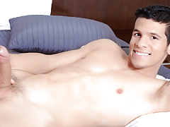 Lee gets undressed & teases you, shows off his raw abs & thick cock