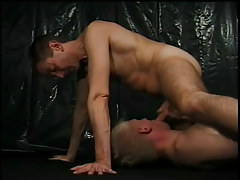 Double hunky men getting smack of wang in 6 clip