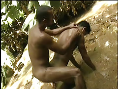 Hardcore brazilian anal in the jungle in 3 episode