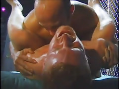Muscular hot white guys participate gay group sex in 4 episode