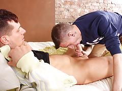 Brendon Rides Till He Blasts - Brendon Lee And Sky James