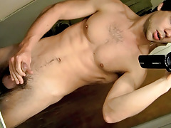 POV Dong Stroking In The Shower - Zack Randall