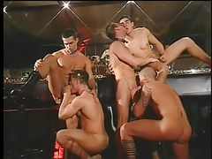 Gay club drinking all together distorts likes vast strapon orgy in 2 movie scene