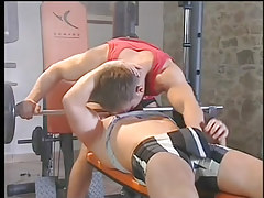 A hardcore gay fuck in the gym in 1 episode