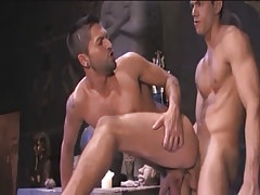 Beautiful Arabian gay penetrates in friend behind