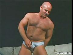 Bear mature gay presents hairy body