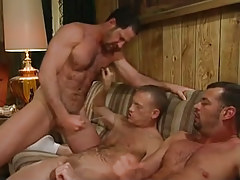 Bear mature gays jizz on guy